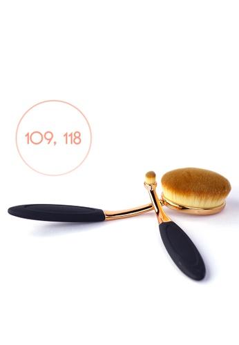 Ellana Mineral Cosmetics gold Galatea Paddle Brush 109 And 118 8AE0ABEA6A9701GS_1