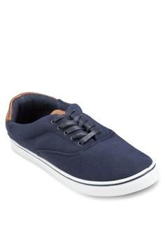Camden 拼接帆布鞋