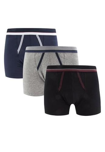 三入esprit台灣門市彈性四角內褲, 服飾, 內褲