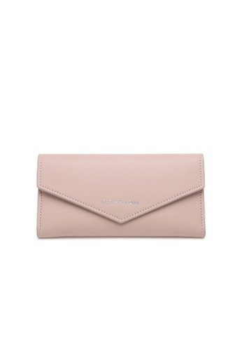 Bethany Roma beige Bethany Roma Envelope Long Wallet - Beige 00234ACE1A9487GS_1