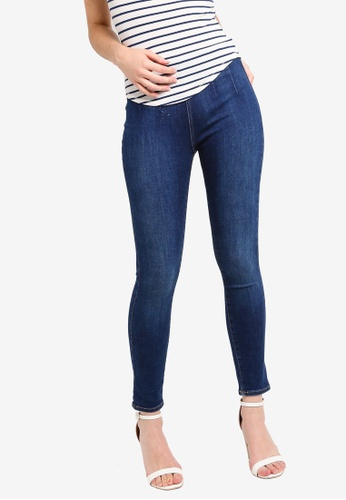 Free People blue Ultra High Rise Jeans 81DDCAAAD0809AGS_1