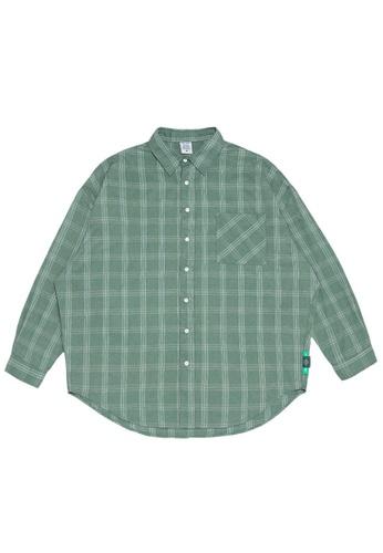 Twenty Eight Shoes Oversize Plaid Shirt 2088W20 2A9C0AA8092800GS_1