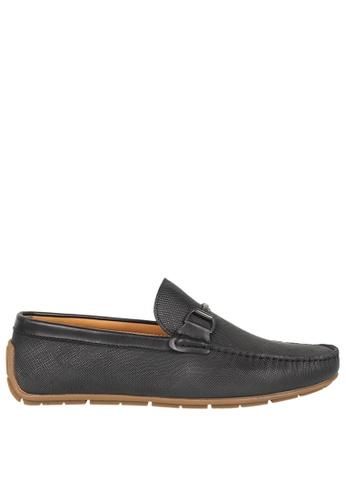 Tomaz black Tomaz C334 Front Buckled Loafers (Black) 6C073SH9338818GS_1