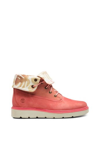 Timberland red Kenniston Roll-Top Boots C8AC7SH654703BGS_1