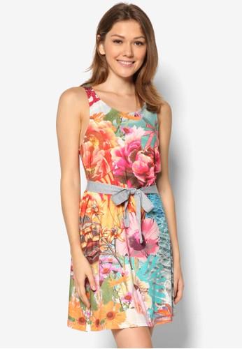 Mesprit taiwanacaua 印花背心洋裝, 服飾, 夏日洋裝
