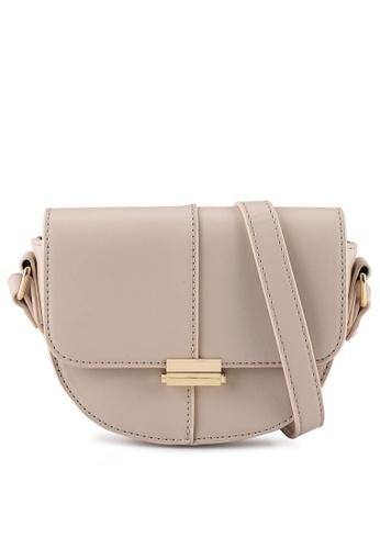 Milliot & Co. beige Grace Sling Bag 57B75AC7BEF58CGS_1