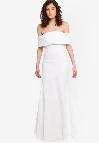 dfb9fdd14b1 Buy JARLO LONDON Valentina Off Shoulder Dress Online | ZALORA Malaysia