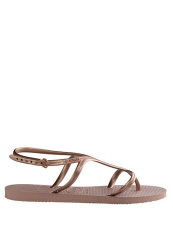 e0d45dd48bed Shop Havaianas Allure 18 Sandals Online on ZALORA Philippines