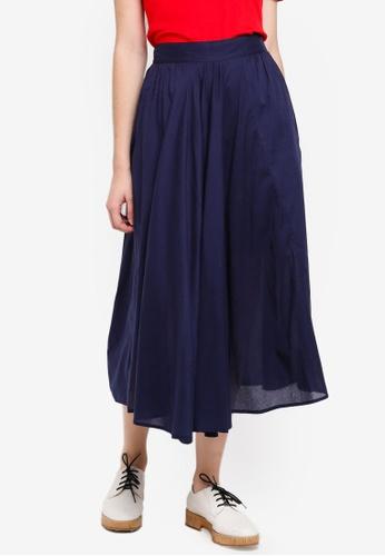 United Colors of Benetton blue Ruffled Skirt FA05EAA0FEC786GS_1