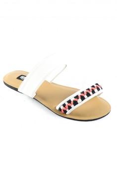 Habi Footwear Luxe Women's Bloom Sandals - Marshmallow