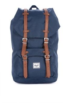 87fe3f26b230 Herschel navy Little America Backpack 88CEFACC7358E0GS 1