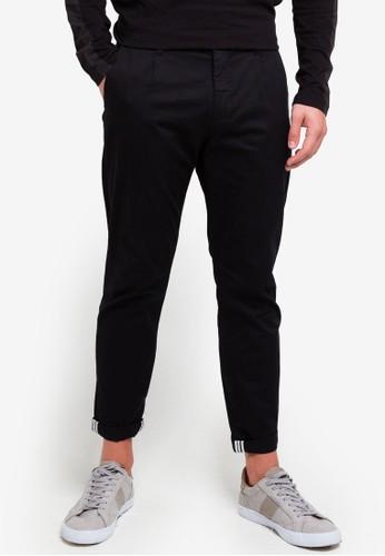 ESPRIT black Woven Cropped Pants A5590AA2916D67GS_1