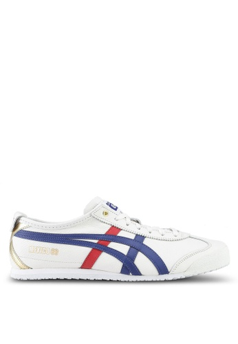 Onitsuka Tiger white Mexico 66 Shoes ON067SH0SVVRMY_1