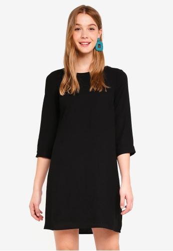 Vero Moda black Gabby Short Solid Dress 138D2AAFA7CD3BGS_1