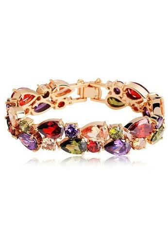 Vivere Rosse multi Monalisa Cubic Zirconia Bracelet VI014AC30IBTMY_1