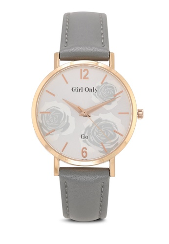 GO grey Florale Watch 52662ACD32A6F9GS_1
