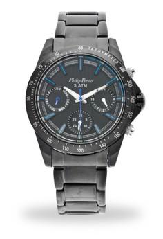 Analog Watch 2591BK-BK-BL-Hand