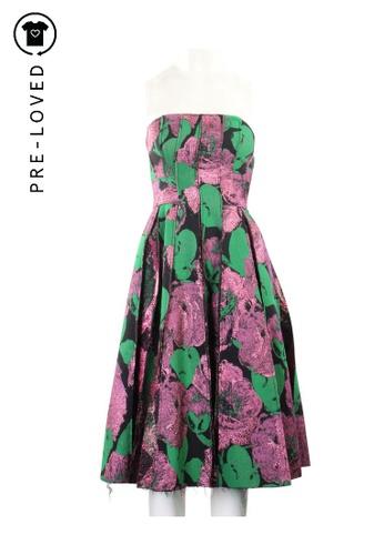 Erdem black Pre-Loved erdem Sleevelss Floral Print Dress D6566AA0376FB8GS_1