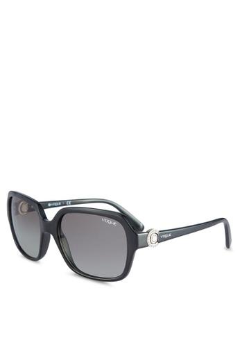 Vogue black Timeless VO2994SB Sunglasses VO655GL64WATMY_1