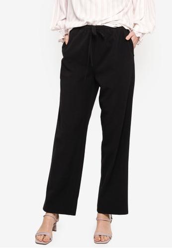 ZALIA BASICS black Lounge Trousers 7D8FEAA6BDD53EGS_1