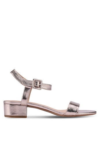 ONLY silver Apple Metallic Heeled Sandals 6BBA0SH6012C48GS_1