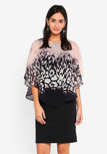 Buy Wallis Black Animal Print Overlay Dress Online on ZALORA Singapore 64ae64a4f