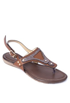 Jenny Flat Sandals