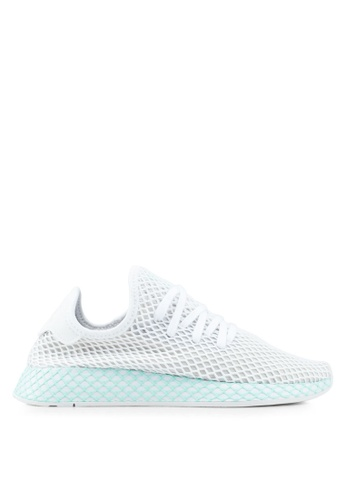b72e75a1 adidas white adidas originals deerupt runner w sneakers D9ED8SH7BDC5E3GS_1