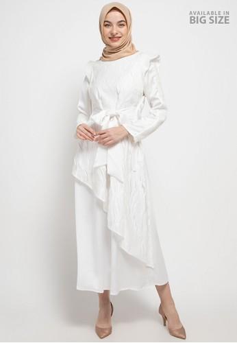 Cardinal white Femme-Long Gamis 07B89AA8B9E4ABGS_1