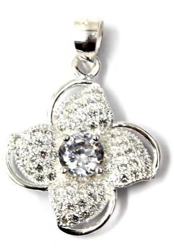 Venice Jewelry silver Grand Duchess of Crystal Stone Pendant VE564AC78RTPPH_1