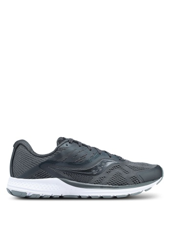 Saucony black Ride 10 Shoes SA304SH0SW54MY_1