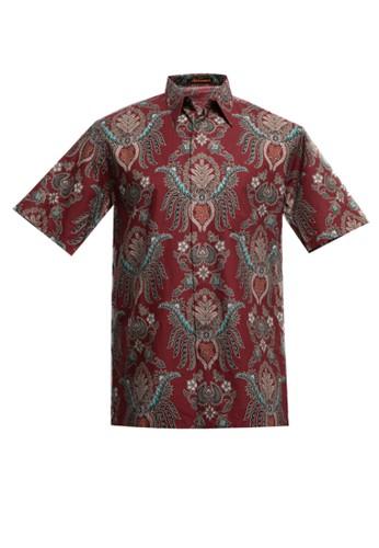 Adikusuma red Hem Batik Pisang Bali 3A744AADCBF380GS_1