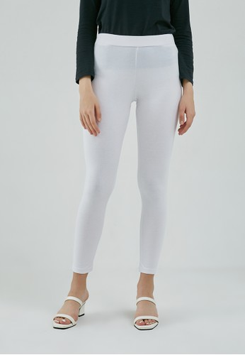 MFMW white MFMW Debor Legging Putih D9582AA3A74FFDGS_1