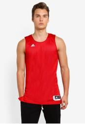 adidas red adidas rev crzy expl j AD372AA46WSRMY_1