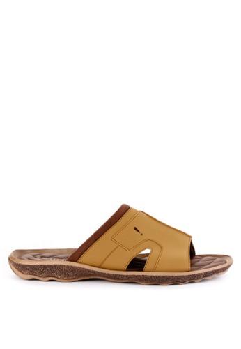 Watchout! Shoes brown Sandals Slip On C36D8SHF8B9656GS_1
