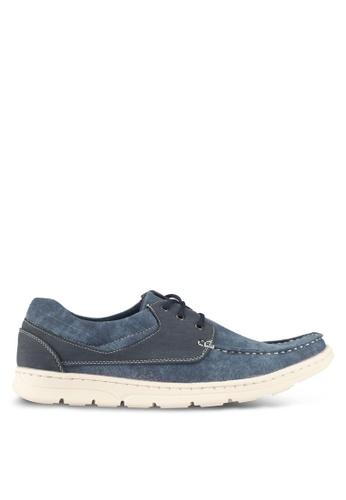Rocklander blue Casual Boat Shoes 09370SH4AACDBEGS_1