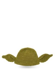 Yoda Inspired Crochet Beanie
