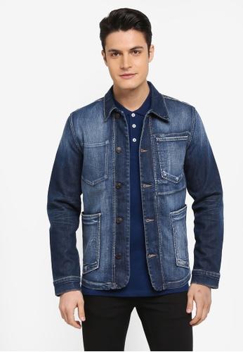 100% de qualité prix abordable bas prix Tokyo 6116 Blue Break Denim Jacket