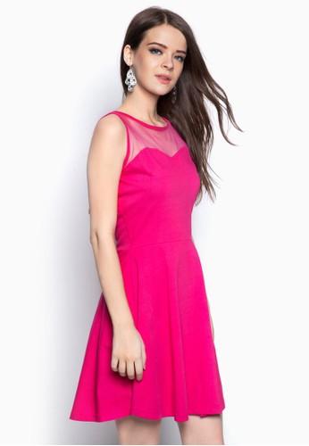 背部蝴蝶結zalora 評價鏤空洋裝, 服飾, 洋裝