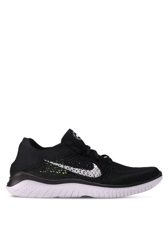 Nike black Nike Free RN Flyknit 2018 Shoes BB262SH6607AD9GS_1