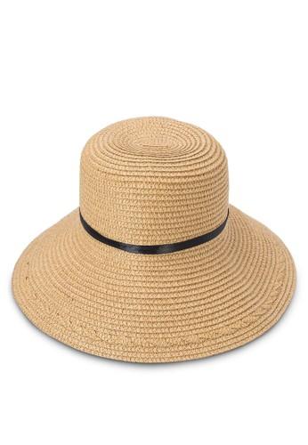 飾帶編織草帽, 飾品配件, esprit 台北爵士帽
