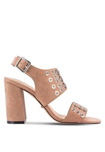TOPSHOP beige Nadia Rivet Heels TO412SH09RVIMY_1