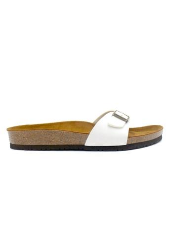 SoleSimple white Lyon - White Sandals & Flip Flops 7B807SH4E8CB13GS_1