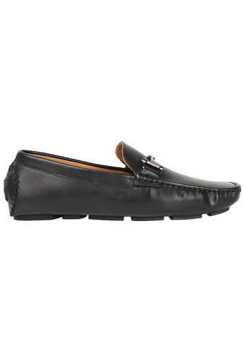 Tomaz black Tomaz C356 Front Buckled Loafers (Black) 5795FSHF7D29B0GS_1