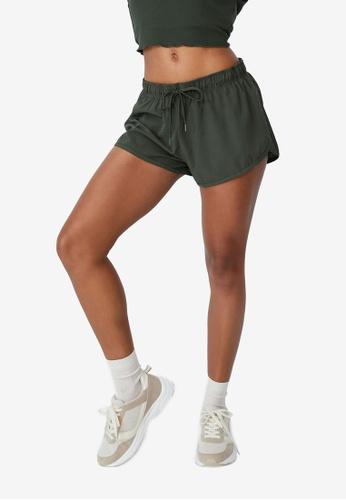 Cotton On Body green Lifestyle Move Jogger Shorts E2D50AA9A64A65GS_1