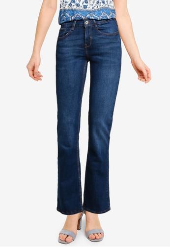 Springfield blue Bootcut Jeans C809DAA4D48EE7GS_1