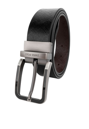 Swiss Polo brown 35mm Reversible Belt 0502CAC8D16B6FGS_1