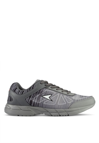 Power grey Power Men Athletic Running Shoes 3A134SH3F77D62GS_1