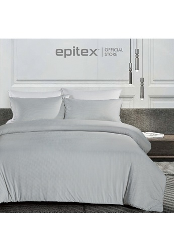 Epitex grey Epitex Extra Cooling Cryocool Wrap-Fit Collection CY3305 Grey Bed Set (w quilt cover) 2EDCFHLBF657F6GS_1