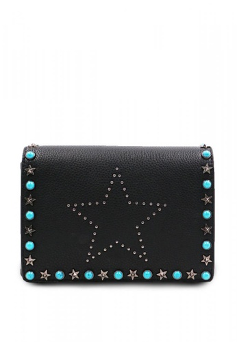 NOBASIC black Rivet Rectangle Handbag NO183AC0K3IYPH_1
